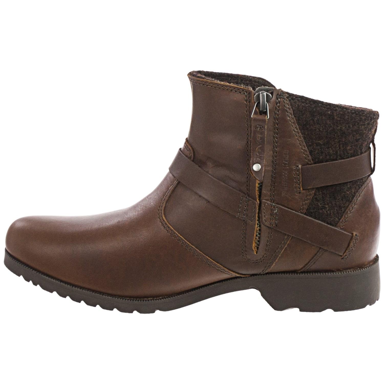 teva de la vina ankle boots for 105pu save 63