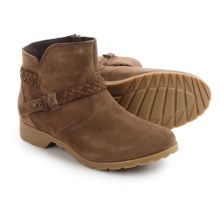 Teva De La Vina Ankle Boots - Suede (For Women) in Bison - Closeouts