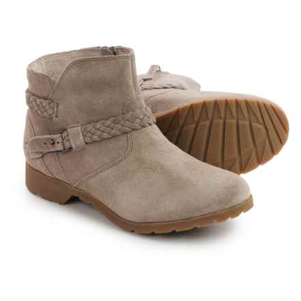 Teva De La Vina Ankle Boots - Suede (For Women) in Desert Taupe - Closeouts