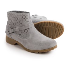 Teva De La Vina Ankle Perf Boots - Suede (For Women) in Grey - Closeouts