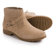 Teva De La Vina Ankle Perf Boots - Suede (For Women) in Tan - Closeouts