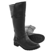 Teva De La Vina Boots - Felted Back, Leather (For Women) in Black - Closeouts