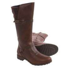 Teva De La Vina Boots - Felted Back, Leather (For Women) in Brown - Closeouts