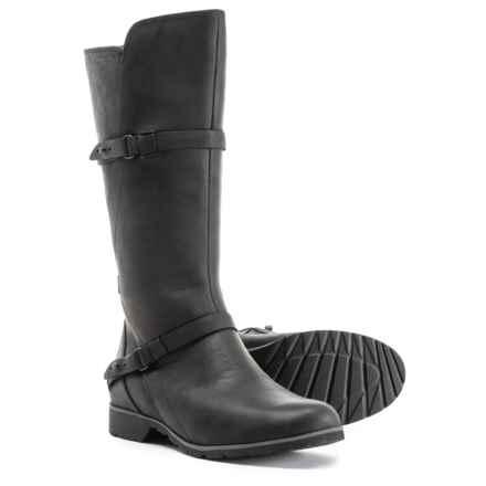 Teva De La Vina Boots - Waterproof, Leather (For Women) in Black - Closeouts