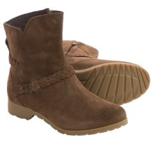 Teva De La Vina Low Boots - Suede (For Women) in Bison - Closeouts