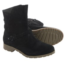 Teva De La Vina Low Boots - Suede (For Women) in Black - Closeouts