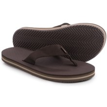 Teva Deckers Flip-Flops (For Men) in Brown - Closeouts