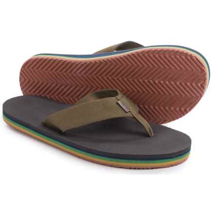 Teva Deckers Flip-Flops (For Men) in Eiffel Tower Rainbow - Closeouts