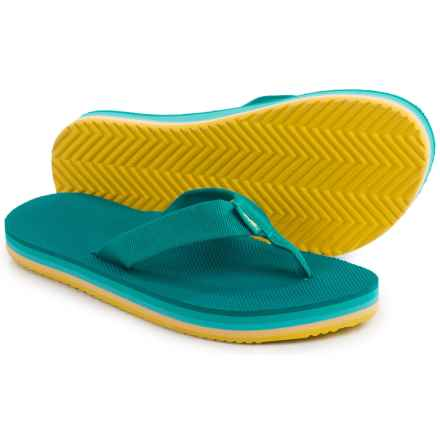 Teva Deckers Flip-Flops (For Women) in Lake Blue - Closeouts