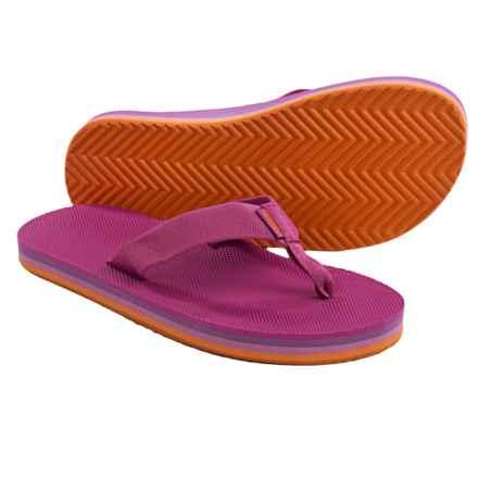 Teva Deckers Flip-Flops (For Women) in Rose Violet - Closeouts