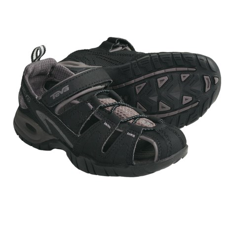 Teva Dozer 3 Sandals (For Kids and Youth) in Black