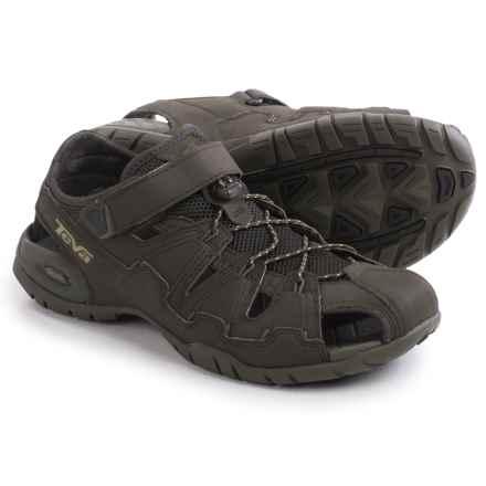 Teva Dozer 4 Sandals (For Men) in Black Olive - Closeouts