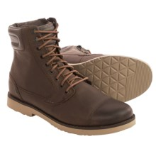 Teva Durban Tall Lace Leather Boots (For Men) in Brown - Closeouts