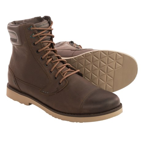 Teva Durban Tall Lace Leather Boots (For Men)