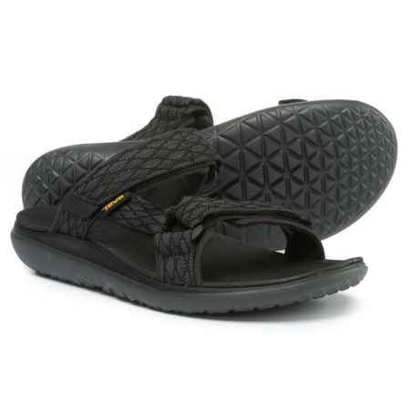 Teva erra-Float Slide Sandals (For Men) in Black - Closeouts