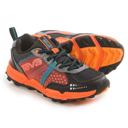 Teva Escapade Hiking Boots (For Little and Big Kids) in Black/Orange/Blue - Closeouts