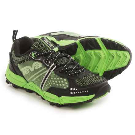 Teva Escapade Hiking Shoes (For Little and Big Kids) in Black/Green - Closeouts