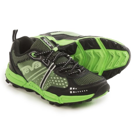 Teva Escapade Hiking Shoes (For Little and Big Kids) in Black/Green