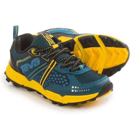Teva Escapade Hiking Shoes (For Little and Big Kids) in Blue/Yellow - Closeouts