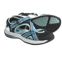 Teva Ewaso Shoes - Amphibious (For Women) in Algiers Blue - Closeouts