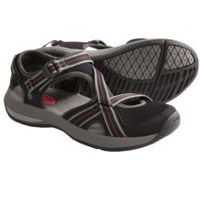 Teva Ewaso Shoes - Amphibious (For Women) in Black - Closeouts