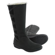 Teva Figueroa Boots - Waterproof, Nubuck (For Women) in Black - Closeouts