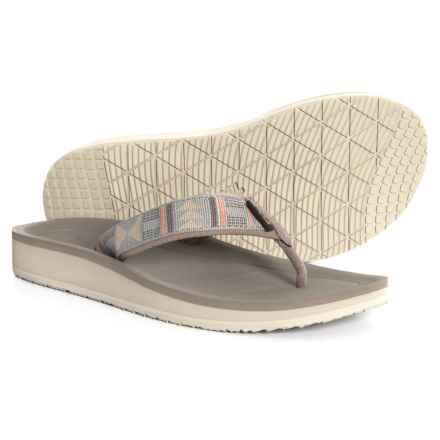 33a97042ca64 Teva Flip Premier Flip-Flops (For Women) in Beach Break Desert Sage