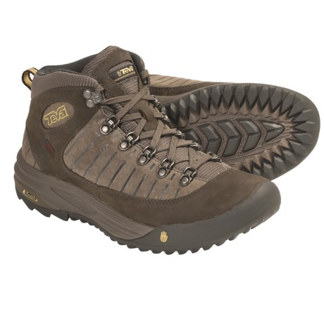Teva Forge Pro Mid eVent® LTR Trail Shoes - Waterproof (For Women) in Brown
