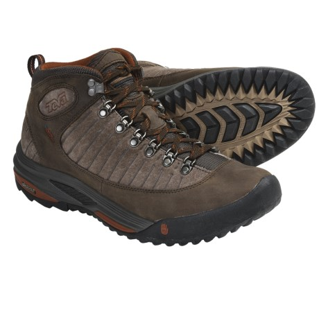 Teva Forge Pro Mid Trail Shoes - Waterproof (For Men) in Brown
