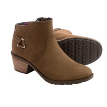Teva Foxy Leather Boots (For Women) in Bison - Closeouts