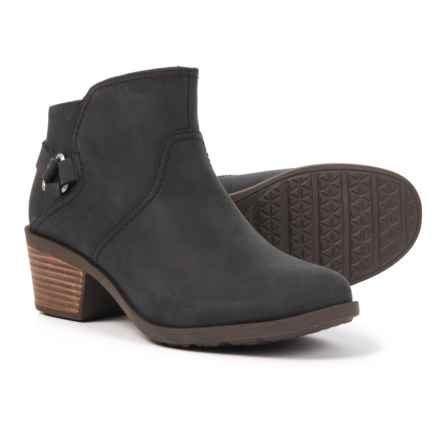 Teva Foxy Leather Boots (For Women) in Black - Closeouts