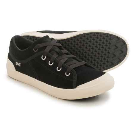 Teva Freewheel 2 Sneakers - Suede (For Women) in Black - Closeouts