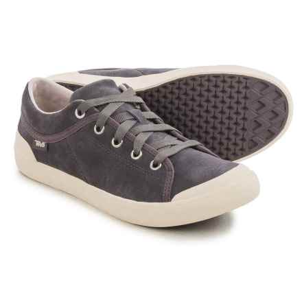 Teva Freewheel 2 Sneakers - Suede (For Women) in Dusk - Closeouts