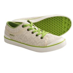 Teva Freewheel Shoes - Canvas (For Women) in Charcoal Grey
