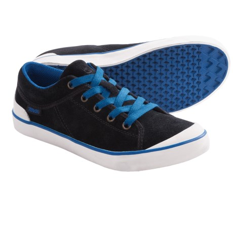 Teva Freewheel Sneakers (For Women) in Black/Blue