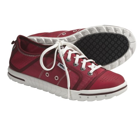 Teva Fuse-Ion Shoes - Lace-Ups (For Women) in Red