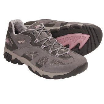 Teva Genea Trail Shoes - T.I.D.E. Waterproof (For Women) in Dark Gull Grey