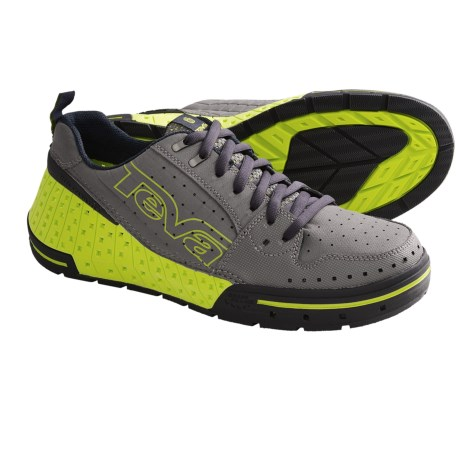 Teva Gnarkosi Water Shoes (For Men) in Neon Lime