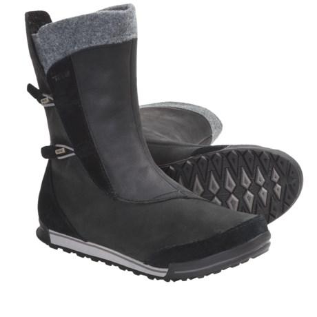 Teva Haley Boots - Waterproof (For Women) in Black