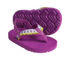 Teva Hula Girl Thong Sandals (For Infants) in Hula Girl Hollyhock - Closeouts
