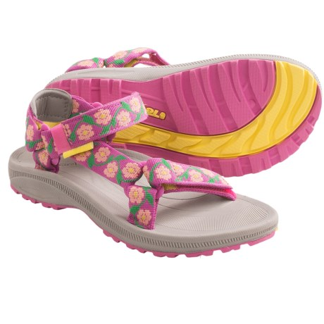 Teva Hurricane 2 Sandals (For Kids and Youth) in Daisy Chain Pink