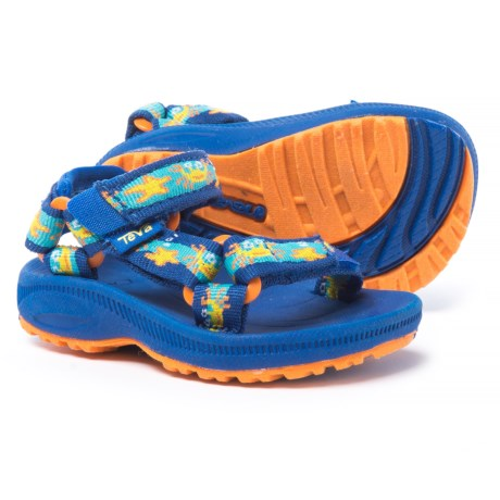Teva Hurricane 2 Sport Sandals (For Infant and Toddler Boys) in Crazy Crabs Blue/Orange