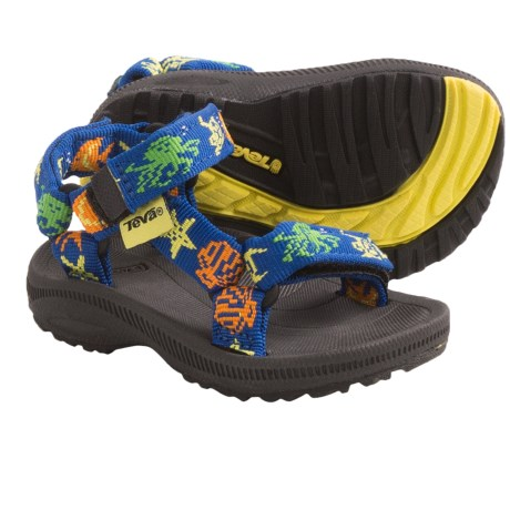 Teva Hurricane 2 Sport Sandals (For Toddlers) in Marine Strong Blue