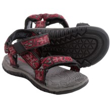 Teva Hurricane 3 Sandals (For Infants) in Black Lizard Pattern - Closeouts