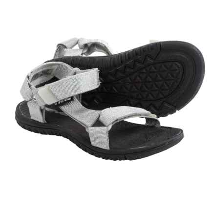 Teva Hurricane 3 Sandals (For Little Kids) in Silver - Closeouts