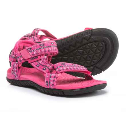 Teva Hurricane 3 Sport Sandals (For Girls) in Hippie Raspberry - Closeouts