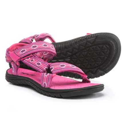 Teva Hurricane 3 Sport Sandals (For Girls) in Monterey Raspberry - Closeouts