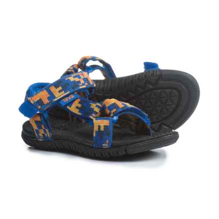 Teva Hurricane 3 Sport Sandals (For Infant and Toddler Boys) in Digital Camo Orange/Blue - Closeouts