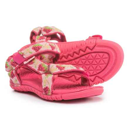 Teva Hurricane 3 Sport Sandals (For Infant and Toddler Girls) in Strawberry Pink - Closeouts