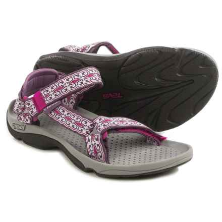 Teva Hurricane 3 Sport Sandals - Microban® (For Women) in Mini Denim Purple - Closeouts